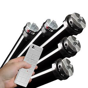 Funk-Rollademotor-Rolladenantrieb-Rohrmotor-Rolladen-inkl-Handsender-SW40-SW60