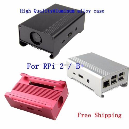 Shell for Raspberry Pi 2 Model B Box Aluminum Alloy Enclosure Case //B Board