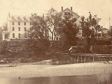 PLYMOUTH NH ~ PEMIGEWASSETT HOUSE ~ OLD ORIGINAL REAL PHOTO STEREO CARD TC1714