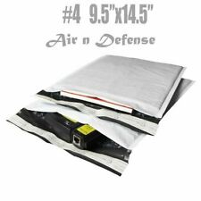 100 4 95x145 Poly Bubble Padded Envelopes Mailers Shipping Bags Airndefense