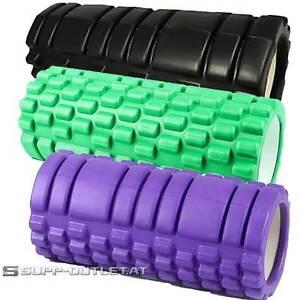 Yoga Roller Faszienrolle Massageroller Foam Schaumstoffroller Fitness Pilates