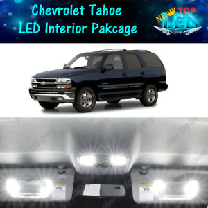 19x White LED Lights Interior Package Kit for 2000 - 2006 Chevy Tahoe Suburban
