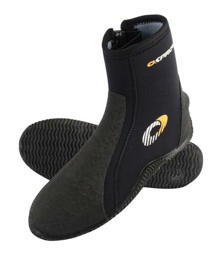 Osprey Adult 5mm Zipped Neoprene Wetsuit Boots Sizes 5 6 7 8 9 10 11 Surf Dive