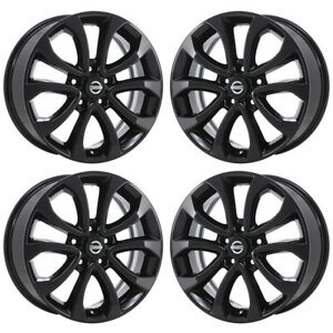 "17"" fits nissan juke black wheels rims factory oem 2015 2016 2017"