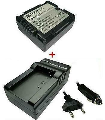 Batería CARGADOR Panasonic nv-gs-150 CE nv-gs-150eg-s EGS