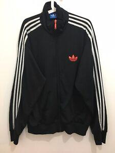 Details about Adidas Originals ADI Firebird Tracksuit Black Blue Size XL