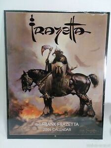 The-Frank-Frazetta-2004-Calendar-Fantasy-Erotic-Art-New-Sealed-Mint-Condition
