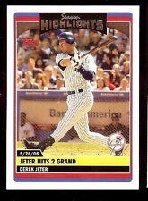 2006 Topps Derek Jeter #UH177 Baseball Card