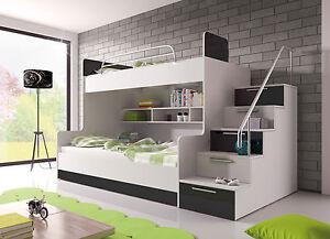 Etagenbett Mit Bettkasten : Bettkasten für luka etagenbett und einzelbett cm weiß u ac