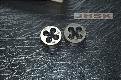 Metric Right Hand Die M6 X 0.75mm Dies Threading Tools 6.0mmX0.75mm 2pcs S