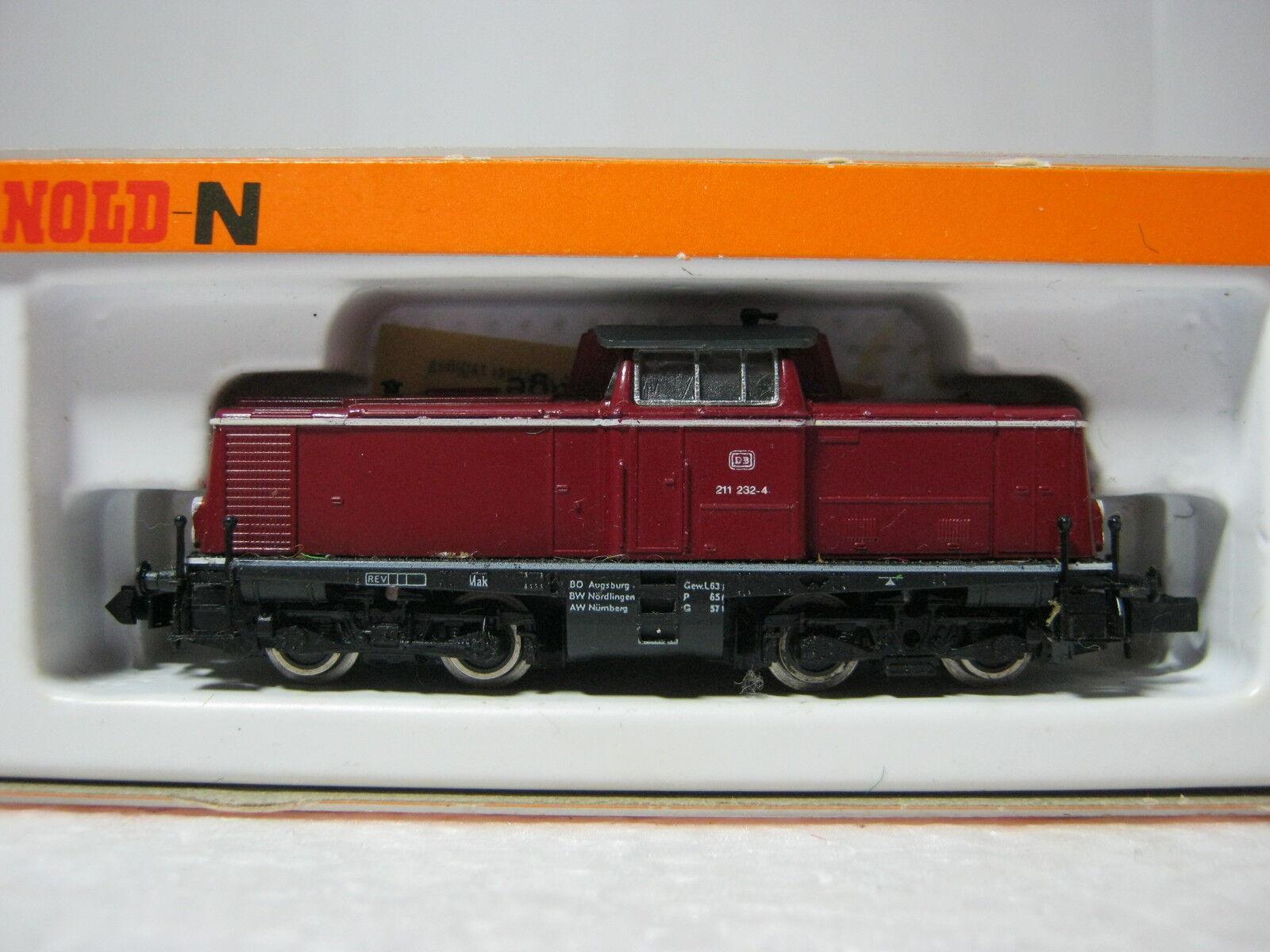 Arnold N 2010 treno BTR. n. 211 232-4 232-4 232-4 DB altrot  rg/aa/55s5  8b6fde