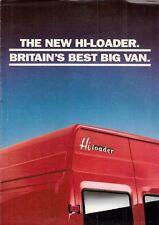 Leyland Daf 400 Series Hi-Loader Van 1992-93 UK Market Sales Brochure