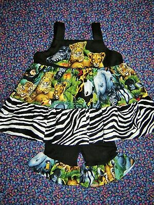 Peacock Feathers Floral Outfit 2T 3T Boutique Girls Halter Top shirt shorts