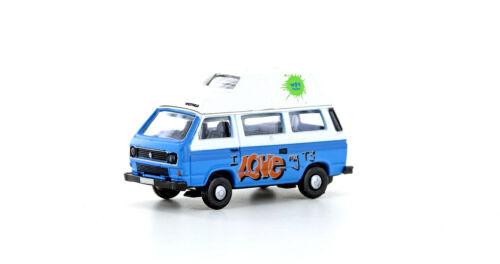 Lemke minis 4336 pista n VW t3 Westfalia Camper graffitti