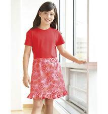 Nuevo Kwik Sew aprender a coser Niñas patrón de costura 3541 tirar-en falda Envío Gratuito