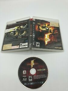 Sony-PlayStation-3-PS3-Disc-Case-No-Manual-Tested-Resident-Evil-5-Ships-Fast