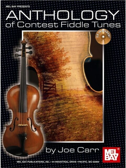 Anthology of Contest Fiddle Tunes Learn to Play MUSIC BOOK & CD Violin