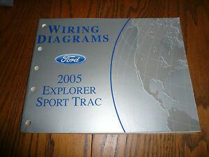 2005 Ford Explorer Sport Trac Wiring Diagrams - OEM