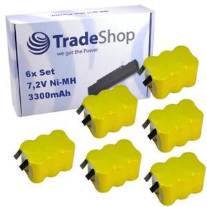 2x Trade-shop Batterie 7,2 V 3300 mAh Ni-MH pour Pellenc p80 périphérique d/'union remplace ap25