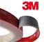 3M-VHB-BIADESIVO-acrilico-schiuma-nastro-Heavy-Duty-nastro-di-montaggio-grigio-1-5m-ROTOLI miniatura 1