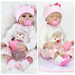 22 Reborn Baby Dolls Real Life Like Looking Newborn Baby Girl Doll Clothes Ebay