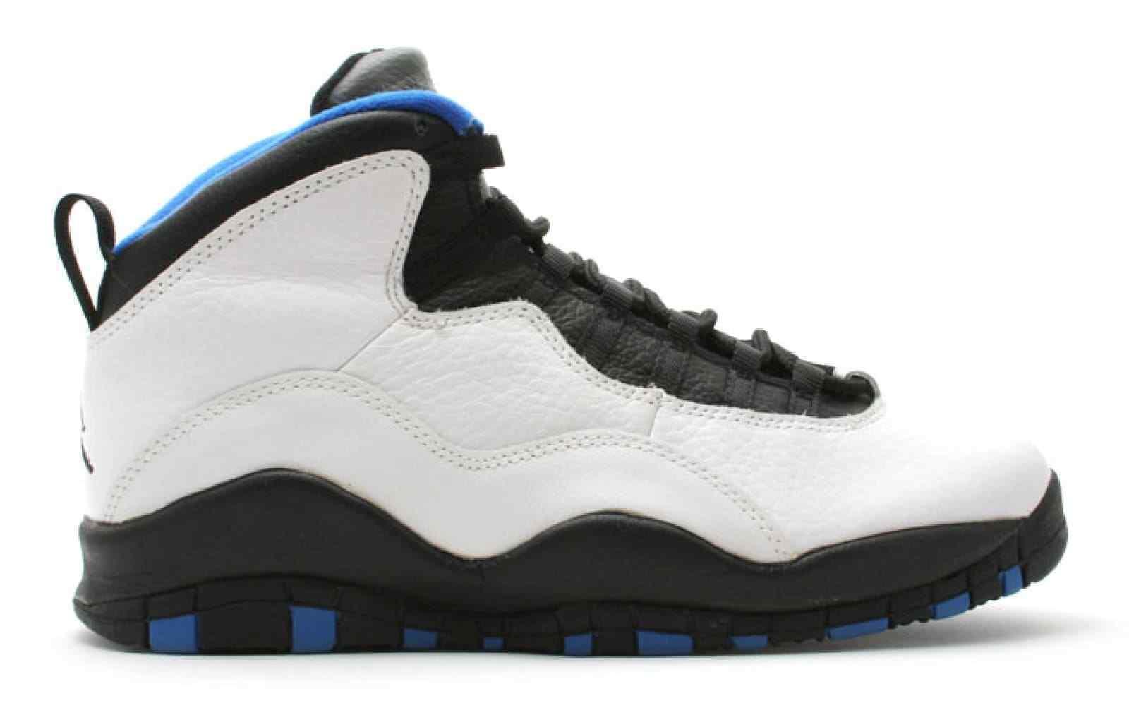 Uomo Uomo Uomo Nike Air Jordan Retro 10  Orlando  Athletic Fashion scarpe da ginnastica 310805 108 f25be0