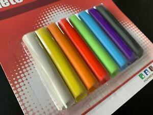 8 Stangen Knete Knetmasse Kinderknete Modellierknete Bastelknete Knetgummi