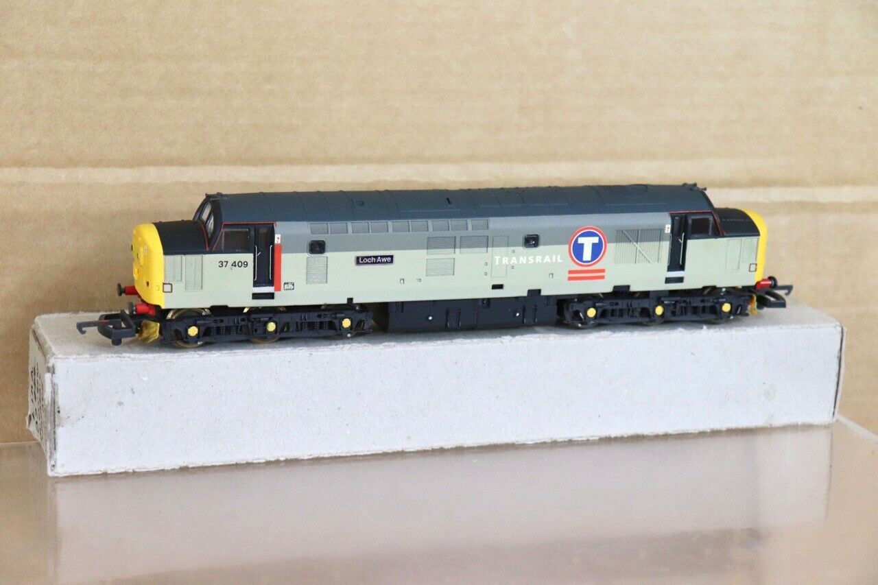 LIMA RE PAINTED BR TRANSRAIL SCOTRAIL CLASS 37 DIESEL LOCO 37409 LOCH AWE nt
