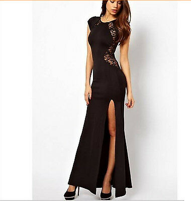 long dresses prom sexy outfits cocktail party evening beach New women lady lace