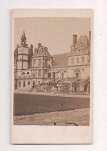 Vintage-CDV-Palace-of-Fontainebleau-or-ChA-teau-de-fontainebleau