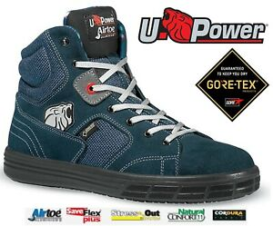 6bb93d5bf3b Details about NEW MENS U-POWER GORE-TEX STEEL TOE CAP WATERPROOF LEATHER  SAFETY BOOTS TRAINERS