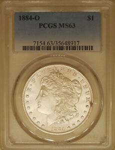 1884-O-Morgan-Silver-dollar-PCGS-MS-63-uncirculated-great-luster