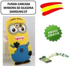 FUNDA CARCASA SAMSUNG GALAXY S7 MINION MINIONS SILICONA 3D ESPAÑA