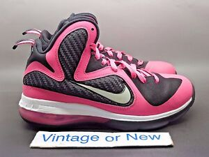 0494d2f7bb1c Image is loading Girls-039-Nike-LeBron-IX-9-Laser-Pink-