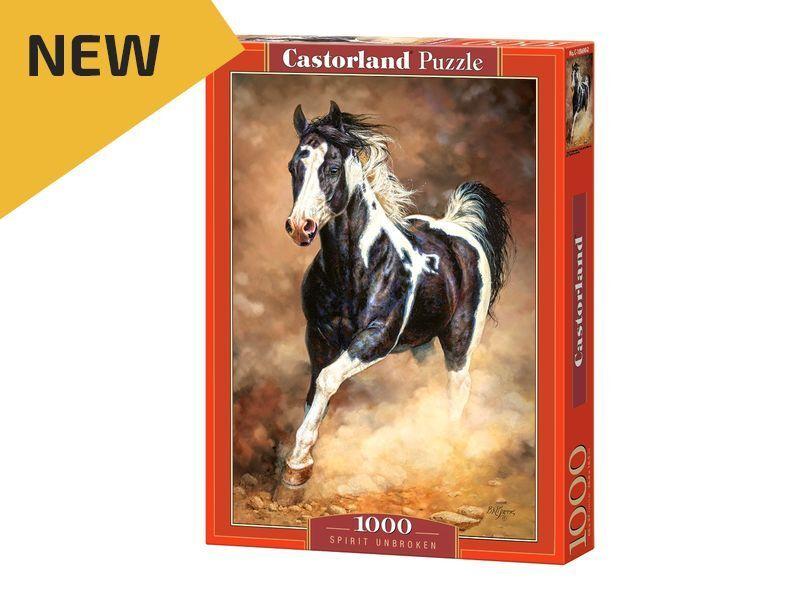 Castorland Puzzle 1000 Pieces - Spirit Unbroken - 27 x18.5  Sealed box C-103690