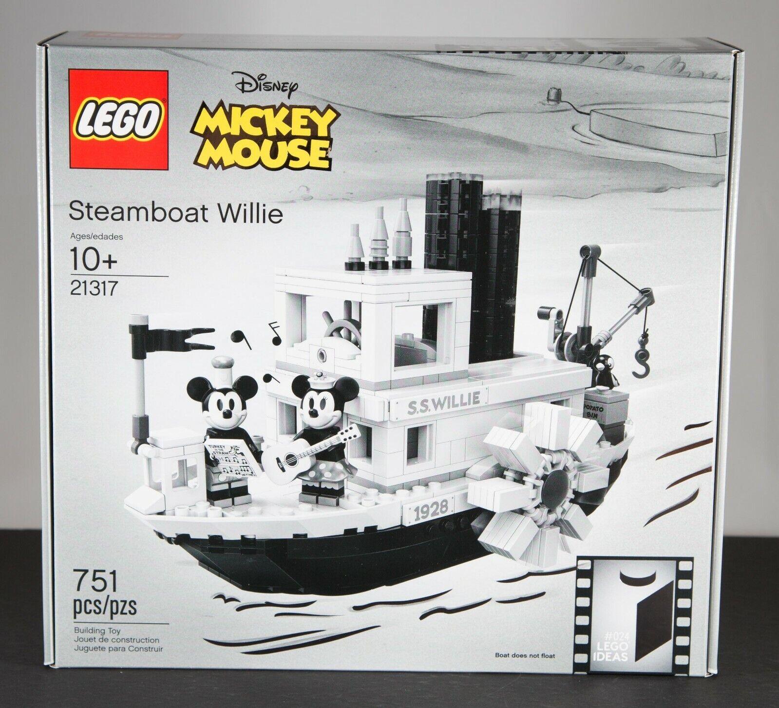 nuovo Sealed Lego 2019  Ssquadraboat Willie  21317 751 Pcs.-RARE scatola Error  24  confortevole