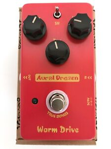 New Aural Dream Warm Drive Analog Guitar Effect Pedal