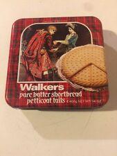 Scatola Di Latta Marca Walkers Shortbread Ltd Anno 1991