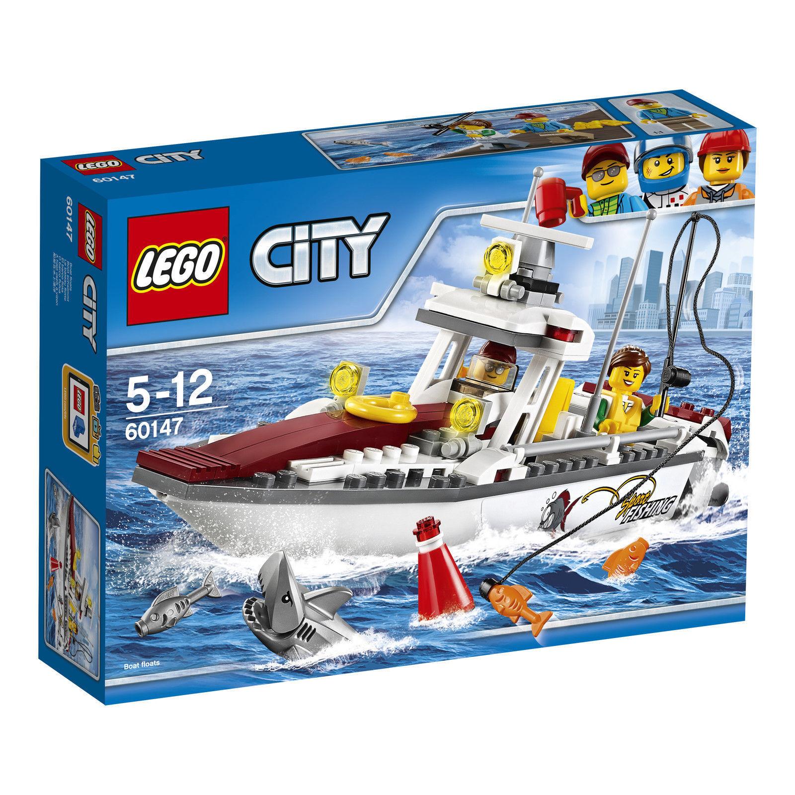 LEGO City Fishing Boat 60147 new