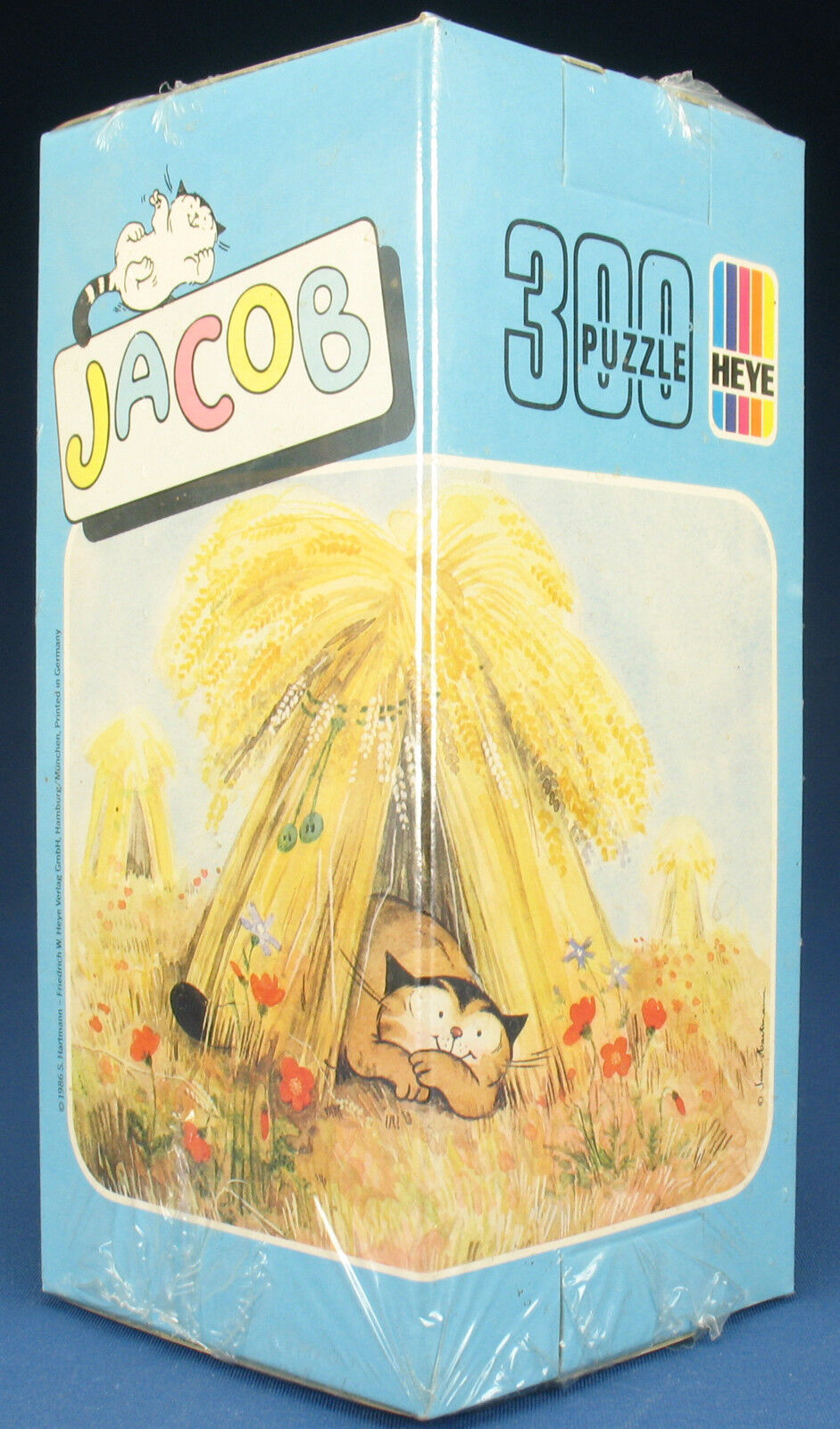 Heye Triangle Puzzle 8243-Jacob-Chat-HARTMANN - 300 pièces-NEUF FILM NEW