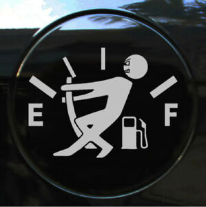 High Gas Consumption Funny Car Styling Sticker Bumper Window Decal Accessories