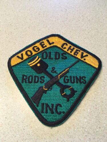 Vintage Olds Rods /& Guns Inc Patch