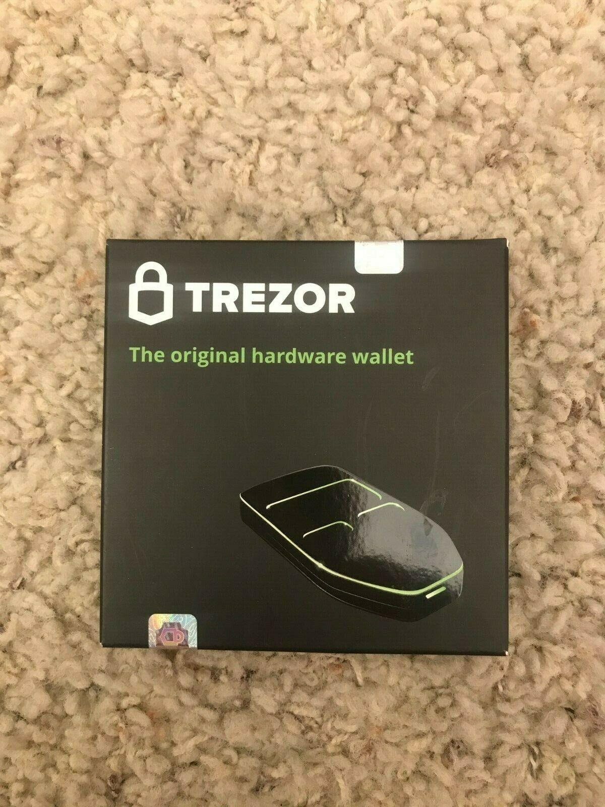 Trezor Hardware wallet vault safe for digital virtual currency Bitcoin Litecoin 1