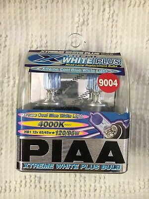 Piaa 4000K 27w=50w XTreme White 880//H27W//1 Halogen Fog Light Bulbs