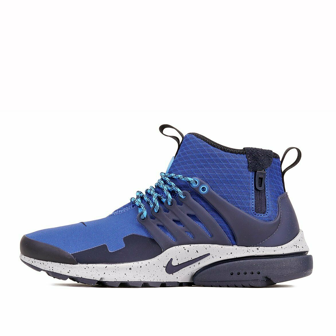 Nike Air Presto Mid Utility Men's Shoes 859524 401 Gym BlueObsidian sz 8 14