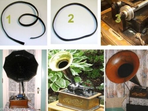 Pathe The BEST Leather BELT for Edison /& Columbia Cylinder Phonograph Players