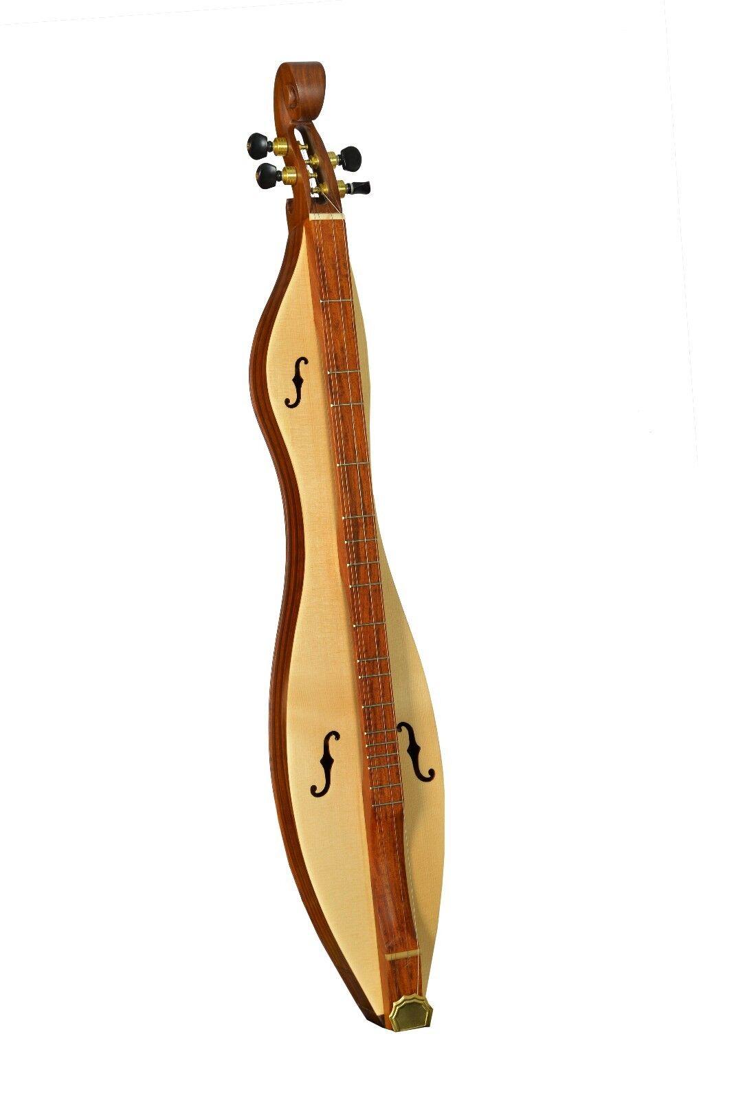 Muzikkon 4 Saiten Mountain Dulcimer Abtrennbare Palisanderholz, Appalachen