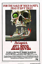 The Legend of Hell House - Roddy McDowall - A4 Laminated Mini Poster