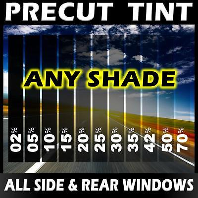PreCut Window Tint for Nissan Altima 4dr Sedan 2007-2012 Darker Black 10/% VLT