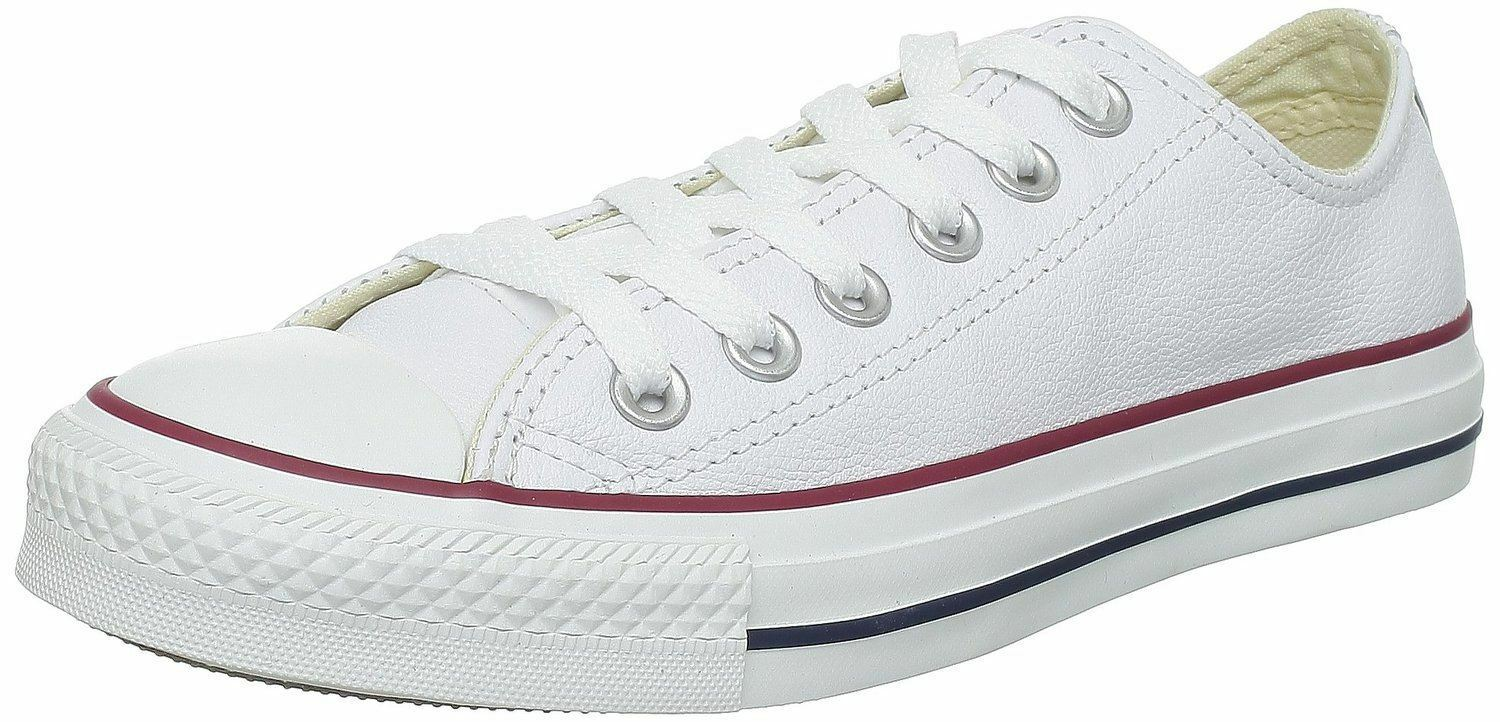 Converse Chuck Taylor All Star White Lo Unisex Leather Trainers